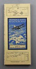 More details for 1938 os ordnance survey aviation map sheet 12 london & south east pre war