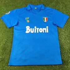 Jersey NR Napoli 1987 1988 Diego Armando Maradona maglia S M L XL XXL Ennerre