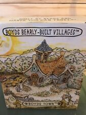 Boyd's Bears Bearly Built Villages Cocoa's House Of Chocolate W/ Accessories