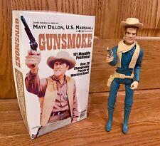 Marx Johnny West Marxman Dodge City Marshal Matt Dillon Gunsmoke with Box