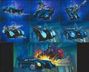 "Cryptozoic/DC Comics 2012 Batman The Legend ""BATMOBILE"" 9 Foil Card Insert Set"