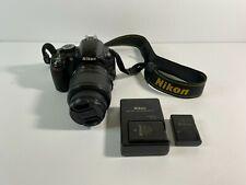 Nikon D3100 14.2MP Digital SLR Camera with AF-S DX VR 18-55mm Lens + 2Batteries