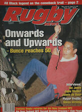NZ RUGBY NEWS 28-23, 7 Aug 1997 Frank Bunce, Ian Jones, Japie Mulder