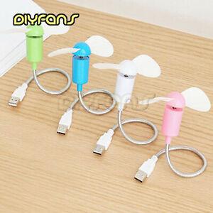 Mini Silent USB Fan Gadgets Flexibel Cool Für Laptop PC Notebook , Desktop AHS