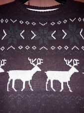 Team Rudolph Jumper Christmas Sweatshirt Novelty Gift Party Funny FAIR ISLE CH11