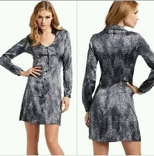 NWT GUESS BY MARCIANO BABY CHEETAH ANIMAL DRESS SIZE XS