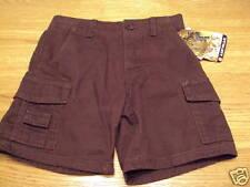 Airwalk skate inspired brown shorts boys 4 NWT 36.00  youth
