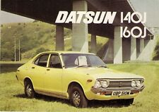 DATSUN NISSAN VIOLET 1974-75 UK Opuscolo Vendite sul mercato 140J 160J SSS