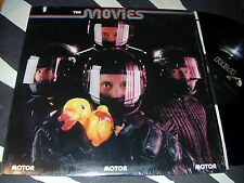 Power Pop Classic THE MOVIES Motor RCA LP 1981 In Shrinkwrap WEIRD COVER