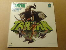 """LP 12"""" / TARZAN - AND THE EYES OF THE LION (TV SOUND TRACK) (KING LEO, US)"""