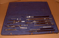Compass / Drawing Instruments - As Photo's - Ecobra Parts & Box