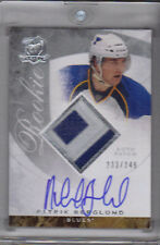08-09 The Cup Patrik Berglund Auto Jersey Patch Rookie Card RC #136 233/249 Mint
