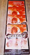 ANDROIDE  !  affiche cinema format pantalon science fiction : klaus kinski