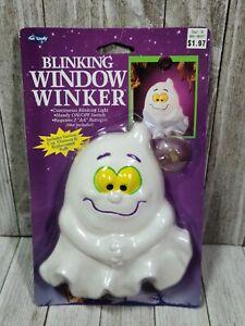 Vintage Fun World Halloween Blinking Window Winker Ghost, Fun World Halloween