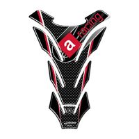 PARASERBATOIO ADESIVI CARBONIO PROTEZIONE SERBATOIO 3D per MOTO APRILIA racing