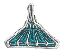 Space Mountain Patch retro iron on sew tribute Tomorrowland Disney World
