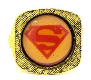 1976 SUPERMAN Movie ring Nestle's premium  f1