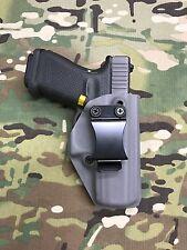 Battleship Grey Kydex IWB Holster for Glock 19 GEN5 w/adj Retention - App Draw
