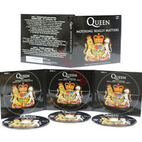 QUEEN - NOTHING REALLY MATTERS - 3x CD SET - THE LEGENDARY BROADCASTS - NEU