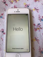 Apple iPhone 5-16GB-White&Silver(Unlocked) A1429 -Excellent Condition