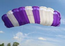 Contrail (Cobalt) 120 sq ft - 9 cell ZP skydiving parachute canopy - good shape