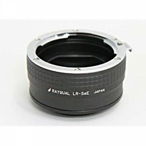 Rayqual LR-SaE Lens Mount Adapter Leica R Lens - SONY aE Body Japan Tracking