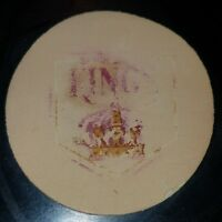 1969-74 VINTAGE AHL SPRINGFIELD KINGS  GAME PUCK CCM OFFICIAL ART ROSS CONVERSE