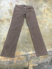 Men's Earnest Sewn jeans, Fulton Zip, khaki wash, straight leg sz *30/32 new