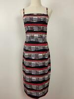 Country Road Womens Multicolor Pencil Geometric Convertible Dress Size 8 A18