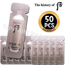 The history of Whoo Gongjinhyang Soo camellia moisturizing oil 1ml x 50pcs