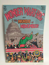 Rip Off Press WONDER WARTHOG The Nurds Of November UNDERGROUND COMIX 1988 Comic
