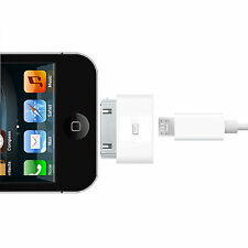30 Pin Male to Micro USB Female Charger Adapter Converter for iPhone4 to Samsung