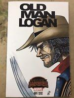 Old Man Logan Blank Variant Art by Riley Reyer