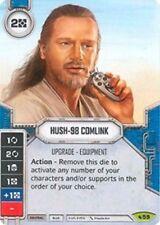 Hush-98 Comlink - Rare w/ DICE - #59   - NM - SW Destiny LEGACIES
