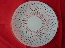 Chance Glass Plate - Wild Rice c1953