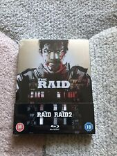 Ultra Rare Limited Edition Raid:Redemption +The Raid 2 Steelbook Only 1000 Made