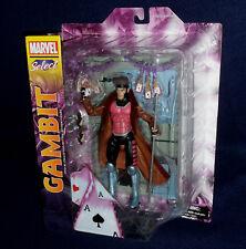 "Marvel Select GAMBIT 7"" Scale Action Figure X-Men Diamond DST In Stock"