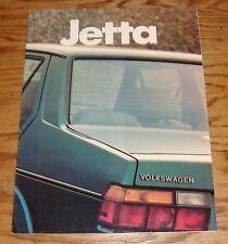 Original 1983 Volkswagen VW Jetta Sales Brochure 83