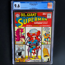 80 PAGE GIANT #6 - SUPERMAN (DC 1965) 💥 CGC 9.6 💥 ONLY 1 HIGHER! Eighty Pg