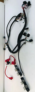 Craftsman ZT7000 Zero-Turn Lawnmower Wiring Harness Battery Cables Fuses Wires