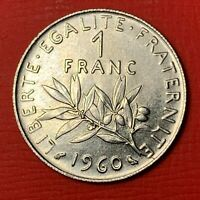 #4880 - 1 franc 1960 SPL/FDC RARE qualité