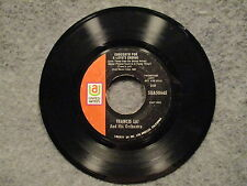 "45 RPM 7"" Record Francis Lai Love Is A Funny Thing & Concerto For Love SUA50665"