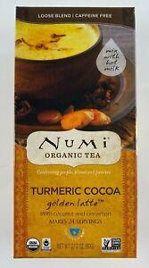 Numi Organic 2.12 oz. Golden Latte Turmeric Cocoa  Gluten Free