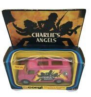 Original Boxed Charlie's Angels Custom Van Corgi 434 Vintage 1978