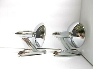 1956 1957 1958 59 Dodge Plymouth Chrysler DeSoto Mirrors Beautiful Chrome