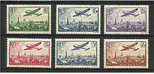 France 1936 *** Survol de Paris *** Y&T N°s 8 à 13 Neufs ** TTBE