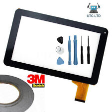 """TOUCH SCREEN DIGITIZER FOR TIME2 Google Tablet GC942A TYF1085V3 9"""" UK, OEM, #a"""