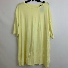 Roundtree Yorke Soft Washed T Shirt 3XT Tall Yellow