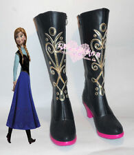 Anna cosplay shoes boots Custom-Made 368