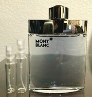 Montblanc Individuel 5ml 10ml Glass Decant Samples